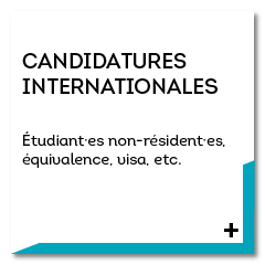 candidatures internationales